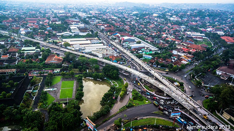 foto udara flyover