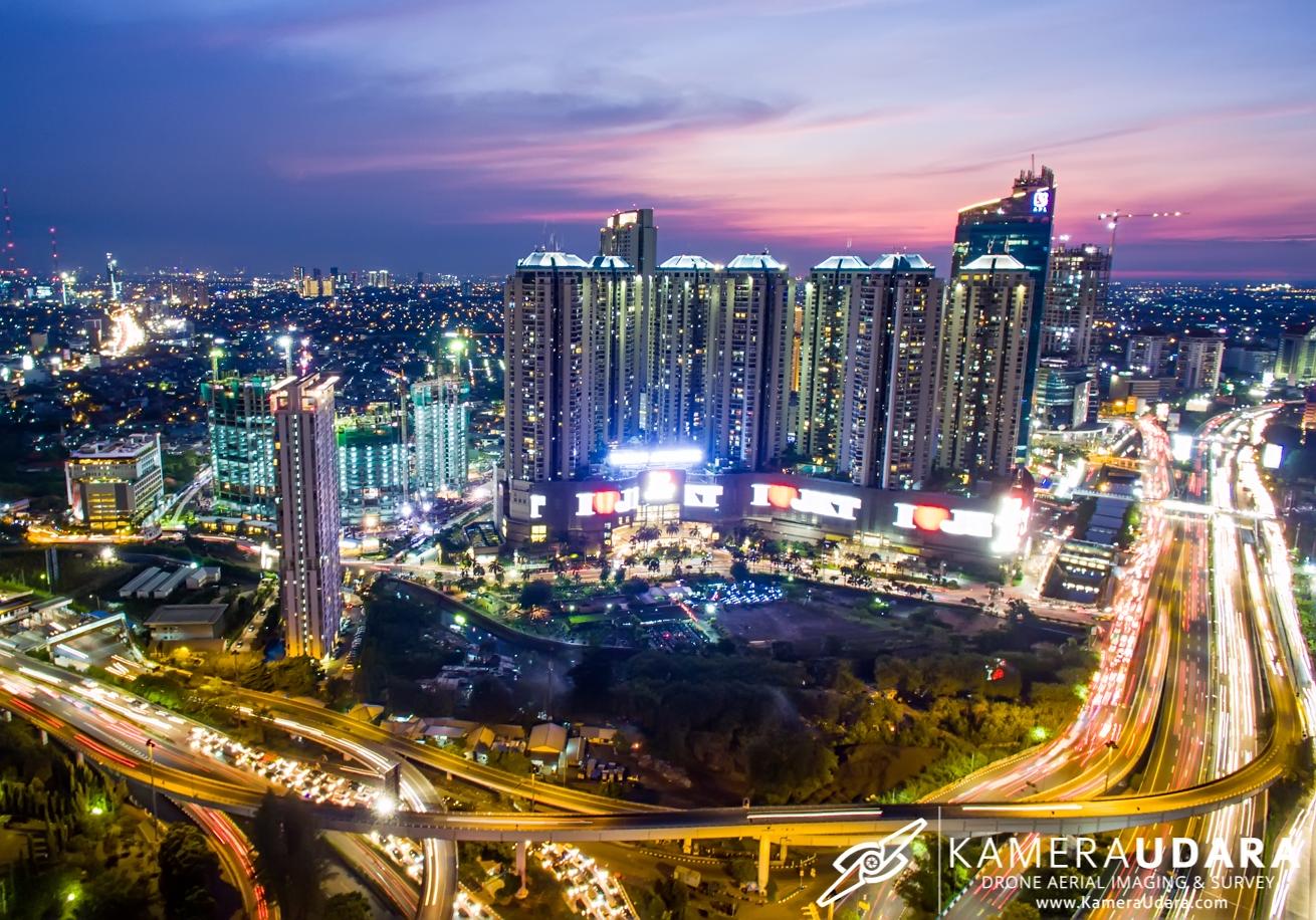 Foto Udara Jakarta - Mall Taman Anggrek