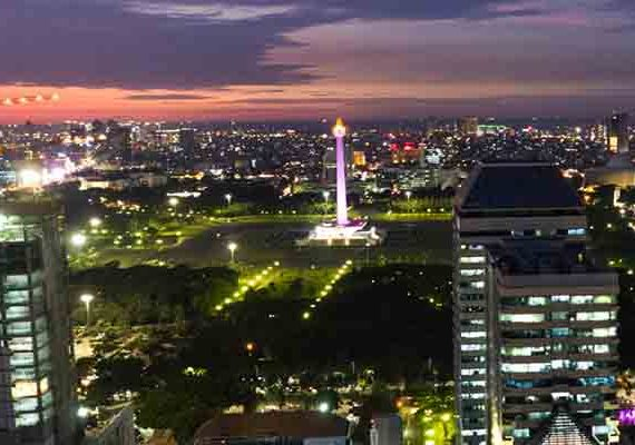 Foto Udara Jakarta